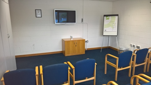EMT Training Lecture Room - View 1