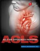 Advanced Cardiovascular Life Support - Experienced Provider (ACLS - EP)